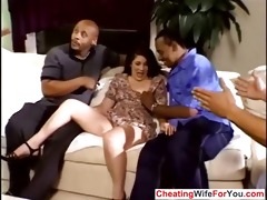 older wife group-fucked by bbc