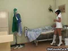 grandad fucks sexy sexually excited nurse