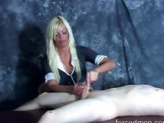 hard slaps on dick experienced during jerk off
