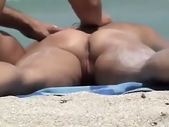public voyeur enjoys s garb beach sex
