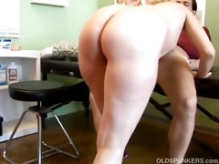 hot blond d like to fuck heidi enjoys a facial