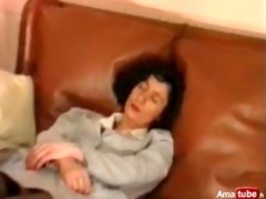 french older in nylons analfisted
