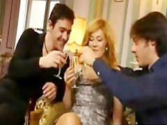 hot mama does her son and ally for delight