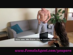 femaleagent. docile dude acquires humbled