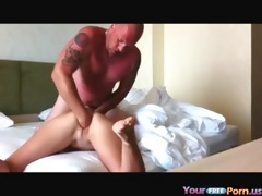 one night with a foreign honey on vacation -