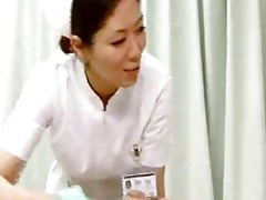 nurse giving tugjob wife suddenly came around