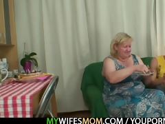 he is is lured into sex by obese mother in law