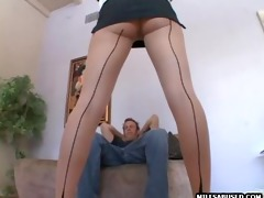 this hawt d like to fuck in nylons is engulfing