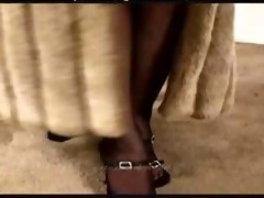 vixenkitten in fur coat acquires screwed mature