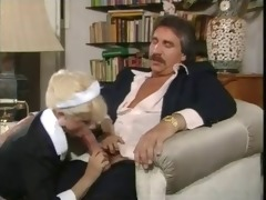 maid woman gives priceless fellatio and fuck hard