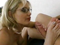 breasty milf in glasses acquires shoved hard