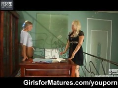 lesbo maid seduces her d like to fuck goddess