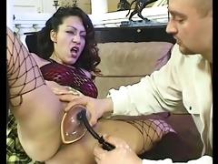 a swollen pussy merits a jock in booty
