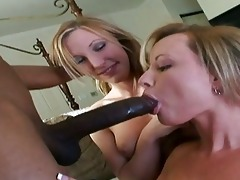 emily shares threesome dark dick with her mamma