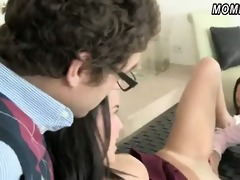 stepmom and legal age teenager share hard fellow
