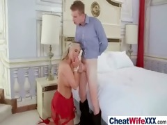 wench adultery hawt wife receive hardcore drilled