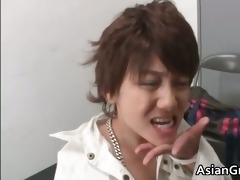 wicked asian d like to fuck gets jizzed after