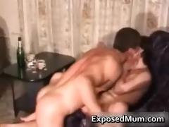 glamorous mamma takin a gulp and fucking