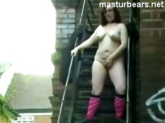 mommy ruby 30 cumming in the streets of leeds