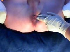 wife hand my booty