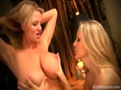 kelly madison and julia ann have steamy lesbo sex