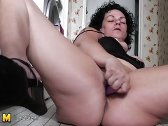 slutty older whore granny playing all throughout