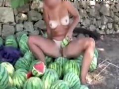 outdoor melon masturbation nudist giselda