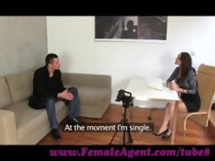 femaleagent. czech gigolo tests her skills