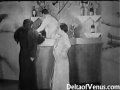 authentic vintage porn 6408s - ffm three-some