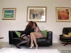 older lesbo lady enticed into sex