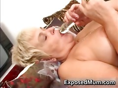 naughty mama feeling hot playing part6