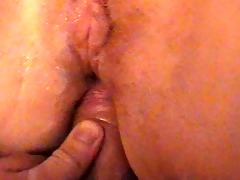 butt fucking my wife.