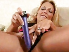 blond mother i fills her bawdy cleft with a