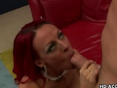 redhead d like to fuck with large meatballs