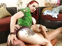 redhead breasty mother i doing great oral