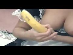 non-professional - maid bonks banana