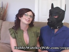 role playing wife copulates for hubby