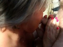 a older big beautiful woman fucked in a some