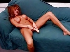 breasty redhead mother i rides unyielding