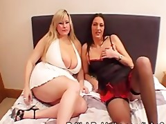 giant boobed woman and aged take facual cumshots