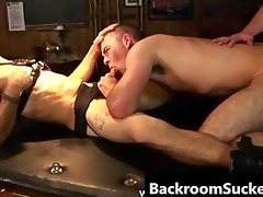 butch bum bashing in the back room part3