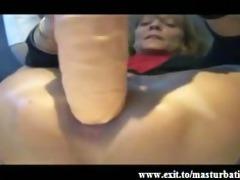 bizarre anal masturbation of granny fiona
