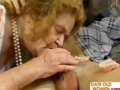 freak of nature old butt granny