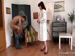 lascivious lady jumps on recent penis