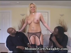 sexually excited mama shared with 10 darksome