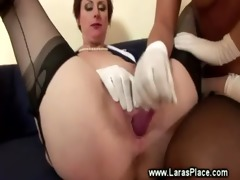 mature lady has bawdy cleft gratified