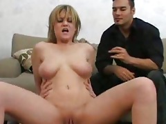wifes bawdy cleft is mad for recent jock
