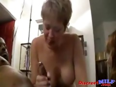 milfs wish threesome black ramrod in their bawdy