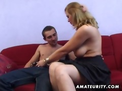 breasty non-professional mother i anal hardcore