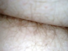 wifes hairy wazoo in white pantys as she is